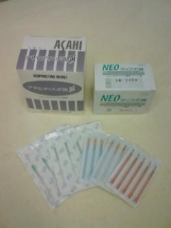 毫鍼(ごうしん), 兵庫県 加古川市 鍼灸院きさらぎで使用する鍼